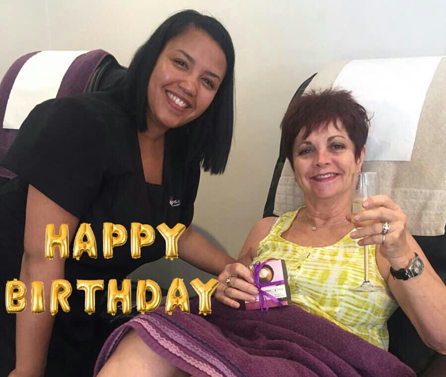 happy birthday photo at Oasis Century city party 2