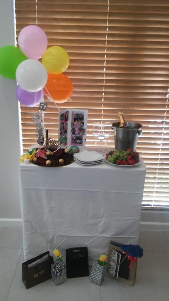 birthday celebrations at Oasis 3