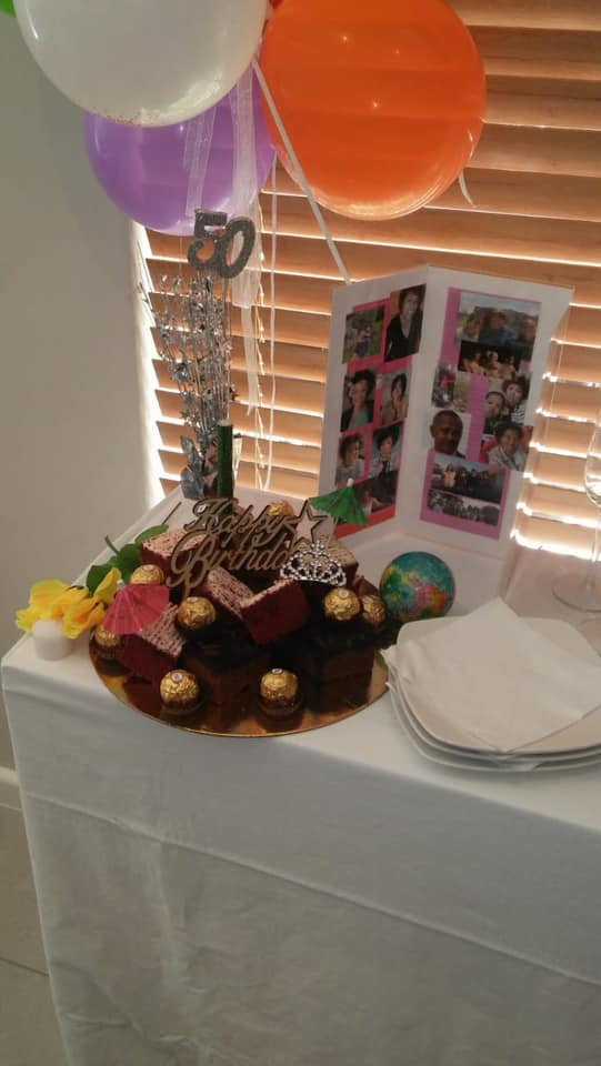 birthday celebrations at Oasis 5 Cape Town