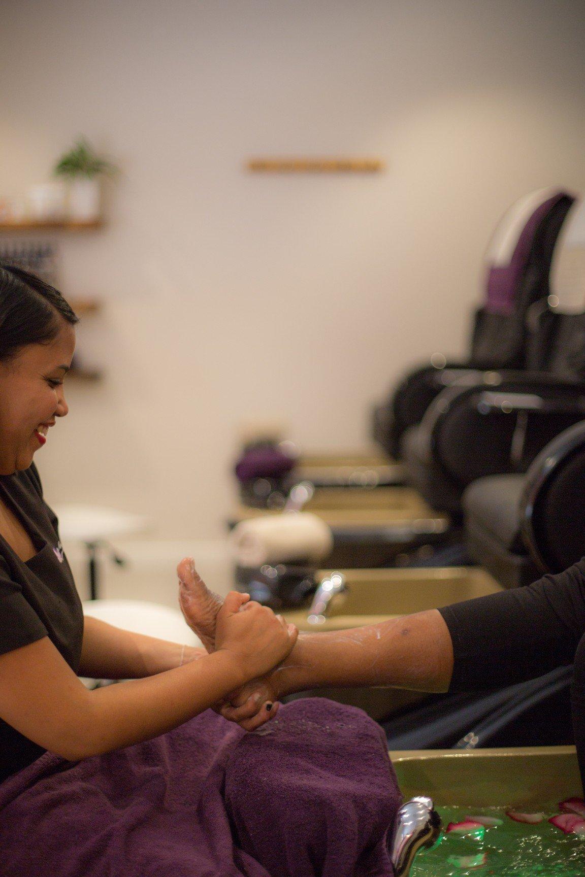 foot massage spa cape town