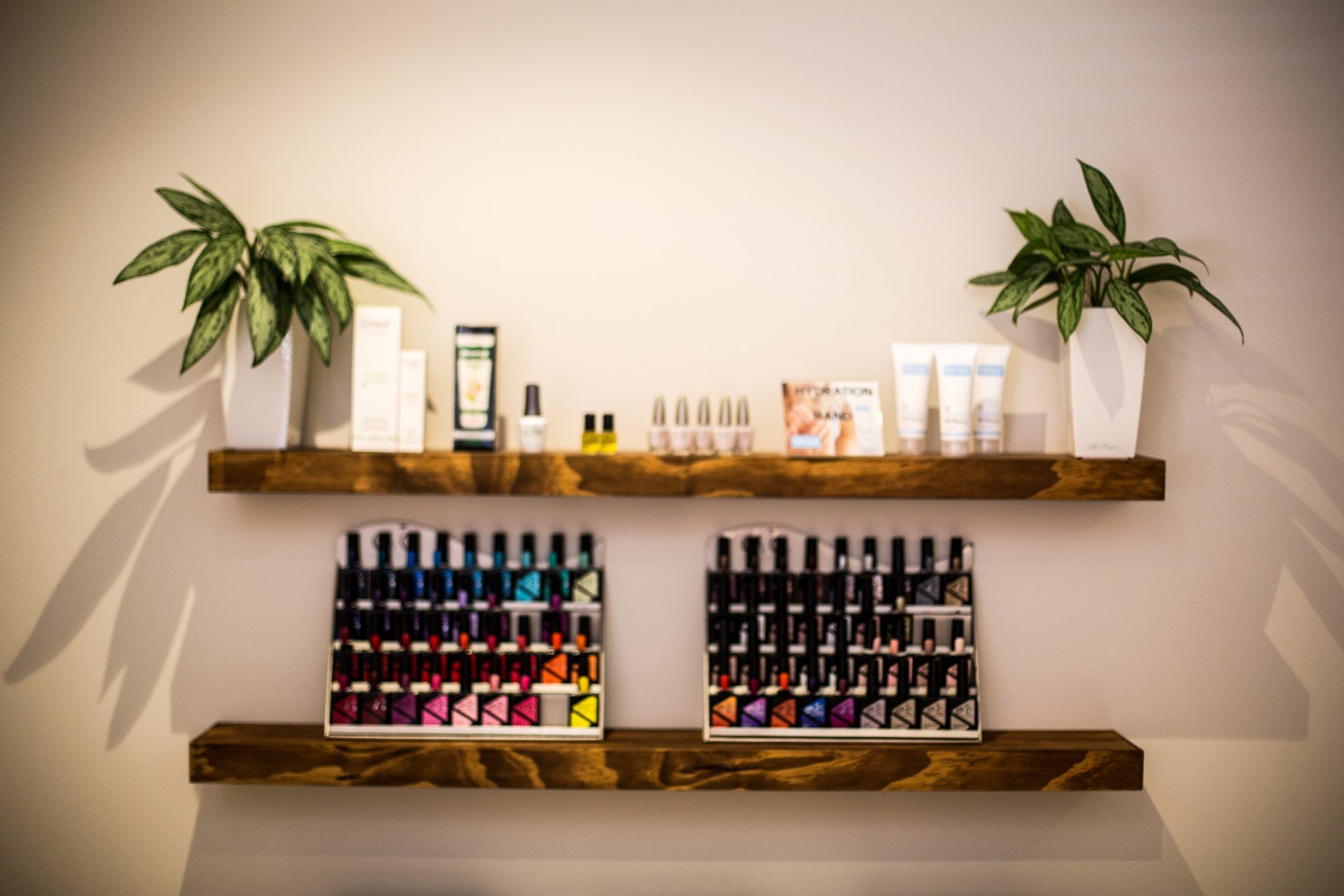 beauty products at oasis spa cape town