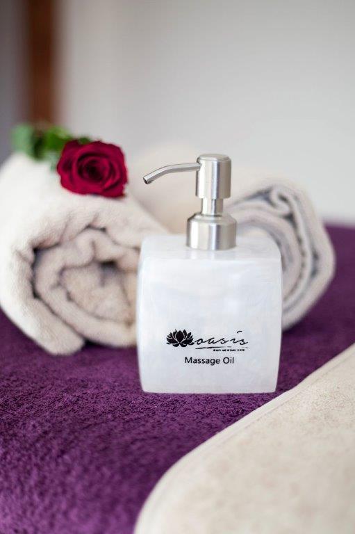 spa cape town massage oil